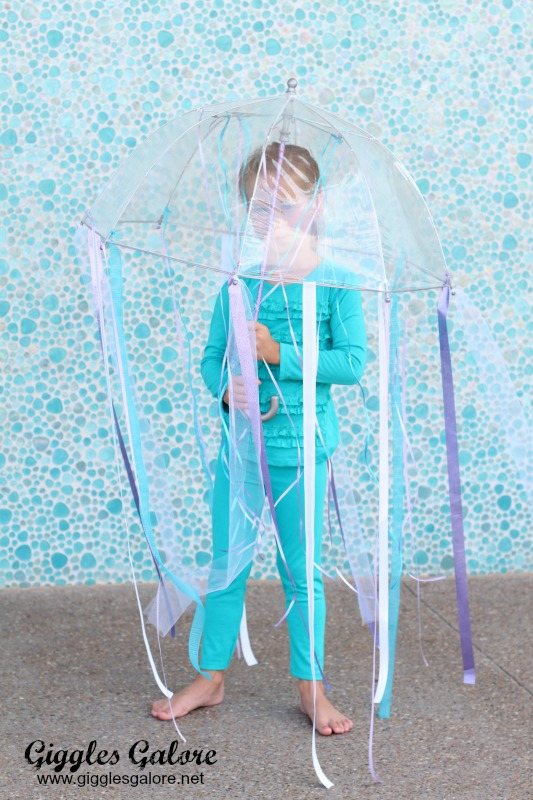5 Minute Jellyfish Costume