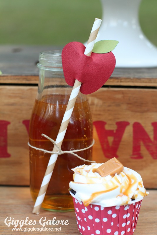 Apple Cider and Caramel Cupcakes