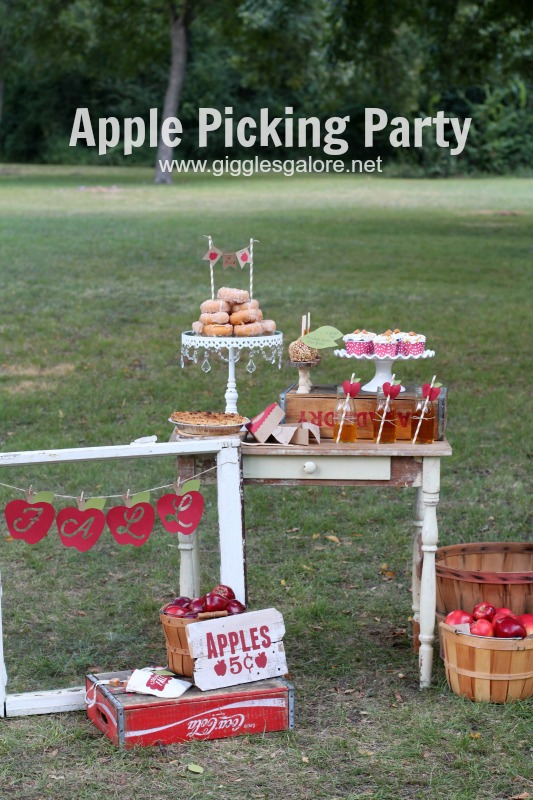 Apple Picking Party by Giggles Galore