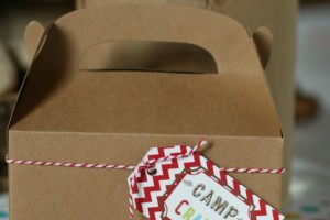 Camp Crafts Box