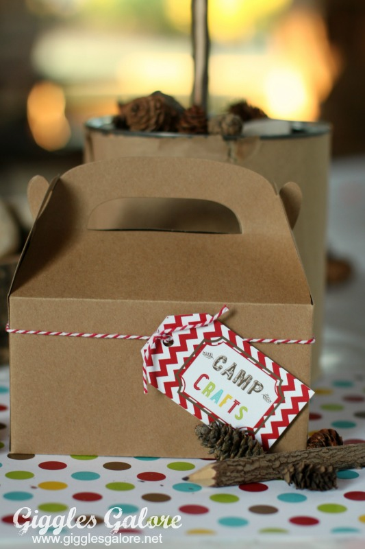 Camp Crafts Box