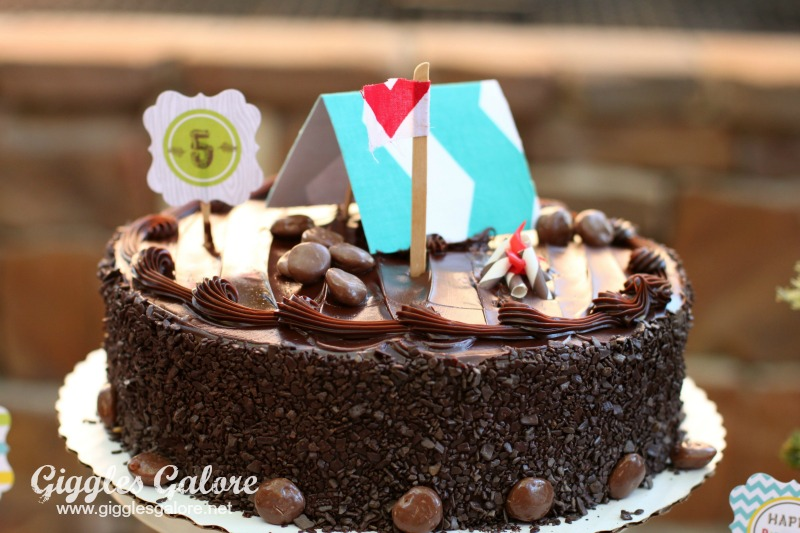 Chocolate Camping Cake