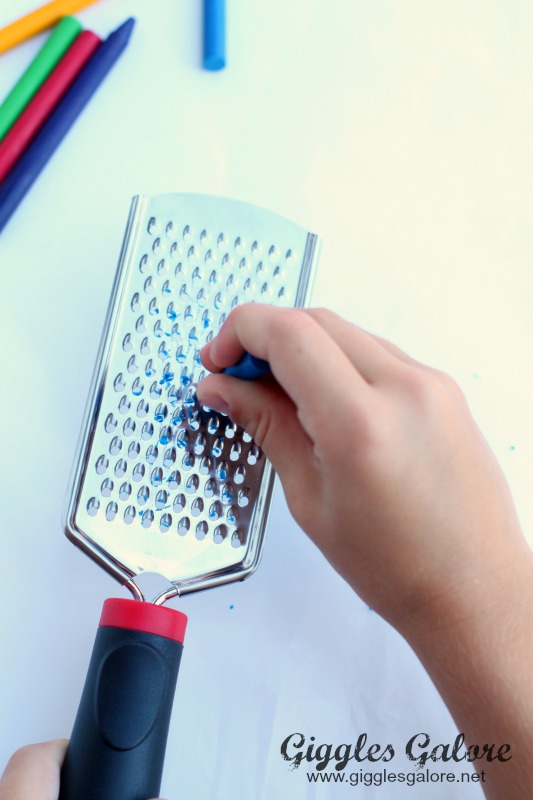Crayon Cheese Grater Tool