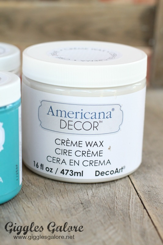 DecoArt Creme Wax