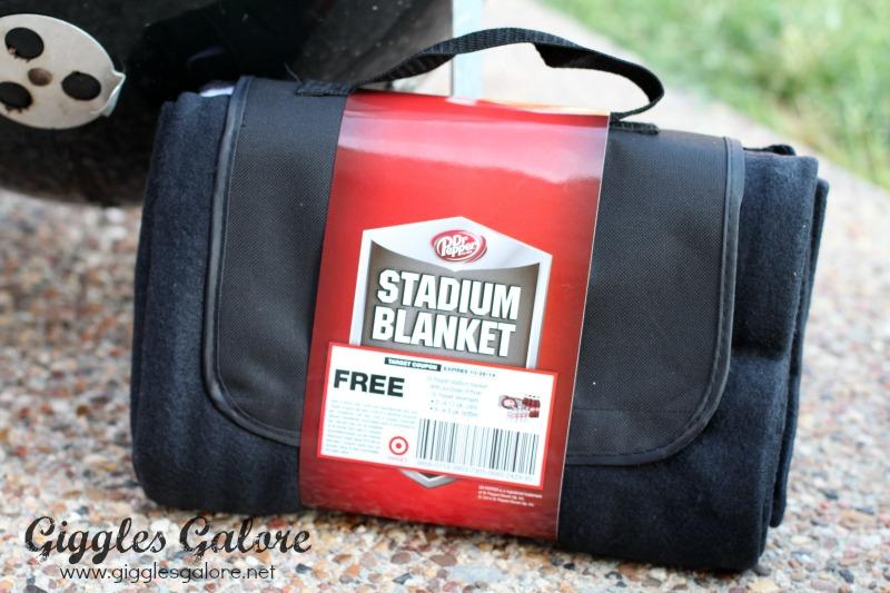 Dr Pepper Stadium Blanket