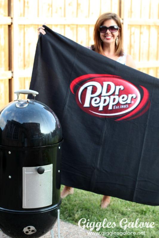 Dr Pepper Tailgate Blanket