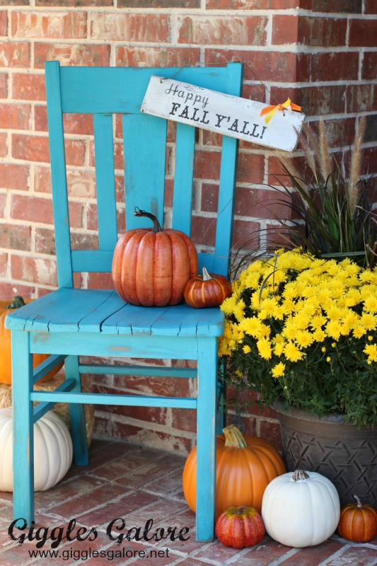 Happy Fall Yall Porch Decor_Giggles Galore