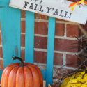 Happy fall yall sign