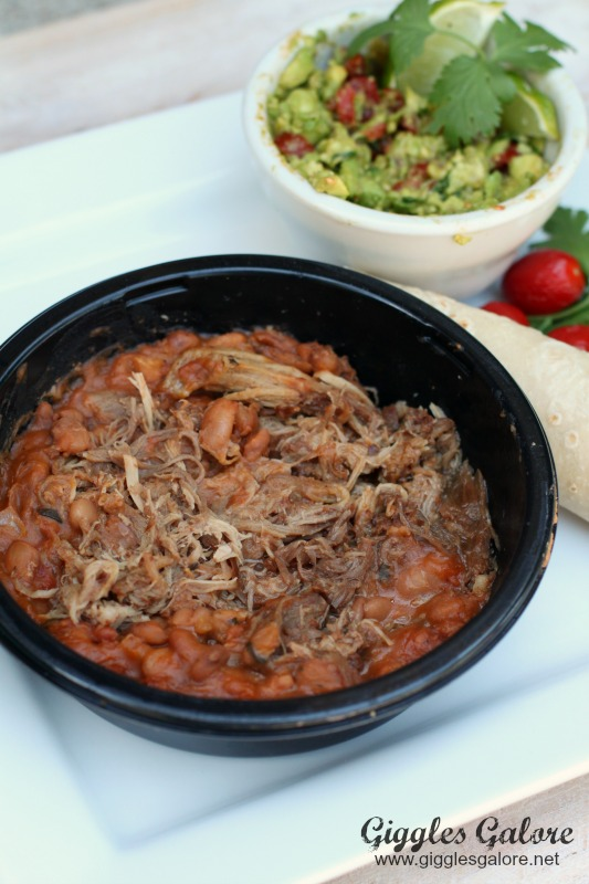 Herdez Carnitas with Charro Beans