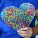 Melted Crayon Art Craft_Giggles Galore