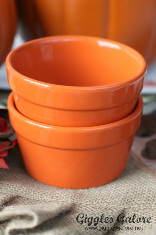 Michaels Orange Ramekin