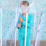 10 Minute Homemade Jellyfish Costume