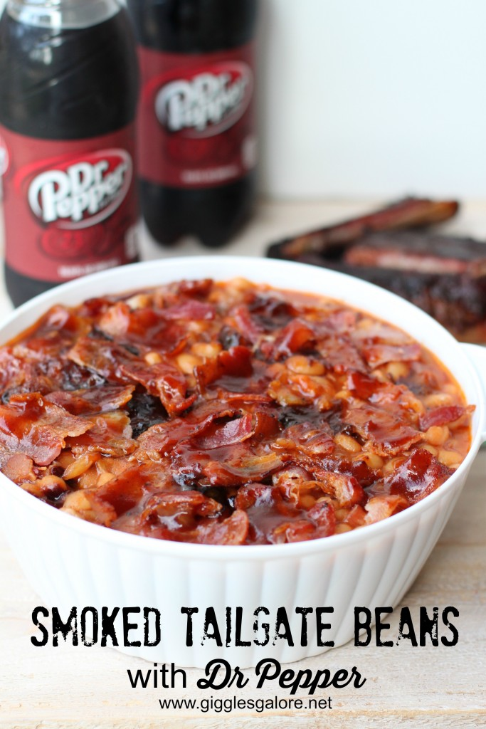 Smoked Tailgate Beans with Dr Pepper_Giggles Galore