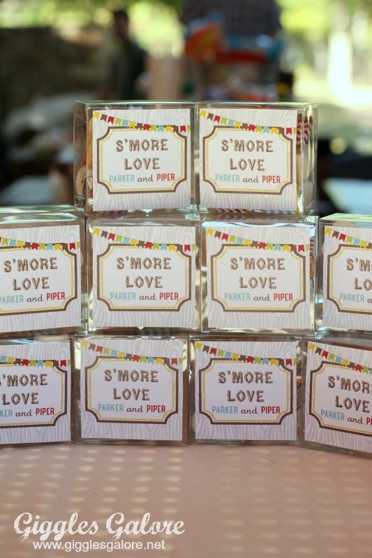 Smore Love Favor Gift
