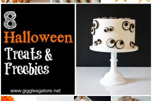 8 Halloween Treats and Freebies by Giggles Galore