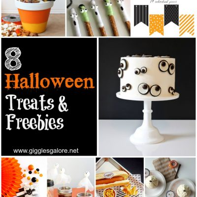8 Halloween Treats & Freebies