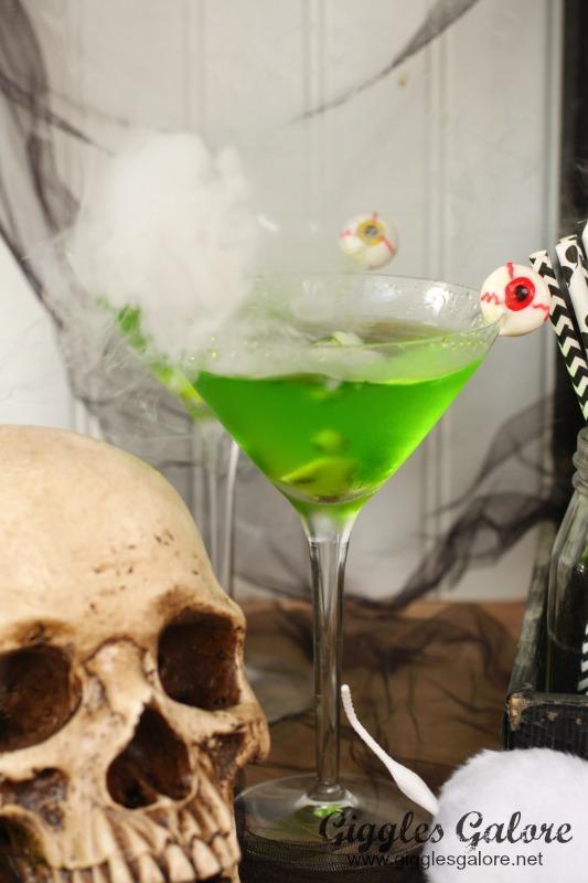 Bubbly Mad Scientist Martini