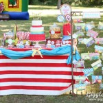 Twins Carnival Birthday Party
