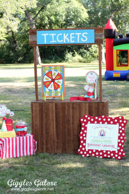 Pin This · Carnival Ticket Booth