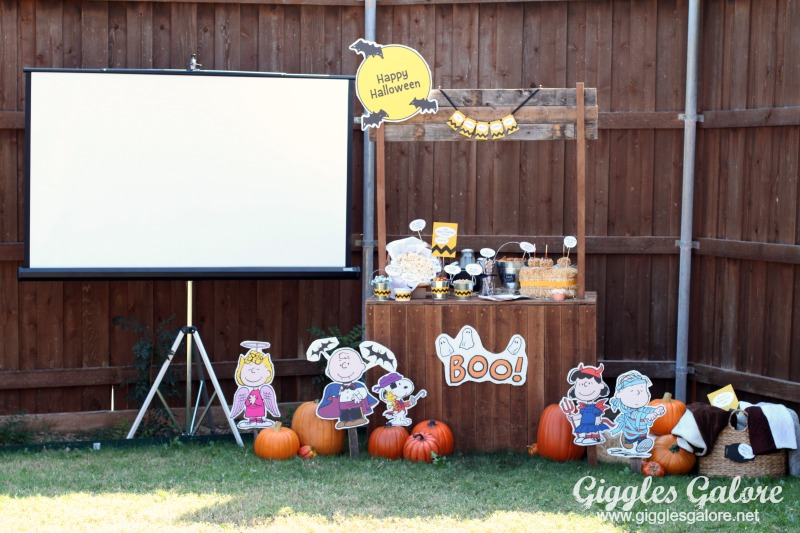 Charlie Brown Pumpkin Patch Movie Party