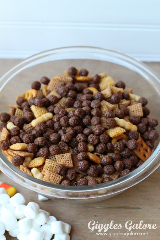 Chex Mix with Coco Puffs