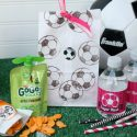 Custom Soccer Snack Bags