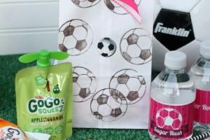 Soccer Snack Bags