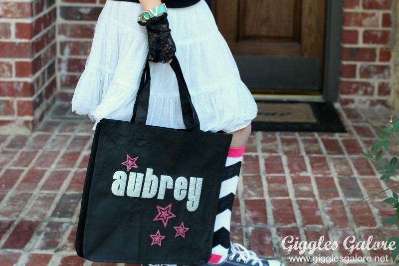 DIY Halloween Rock Star Bag