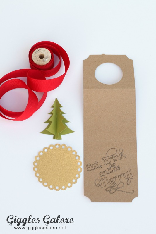 Eat Drink Be Merry Wine Tag Supplies