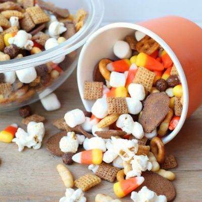 Easy Halloween Chex Mix