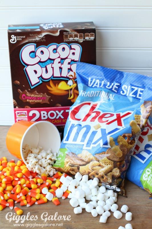 Halloween Chex Mix Ingredients