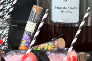Halloween monster guts punch by giggles galore