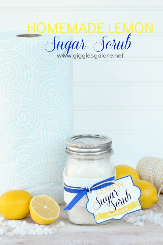 Homemade Sugar Scrub_Hint of Color