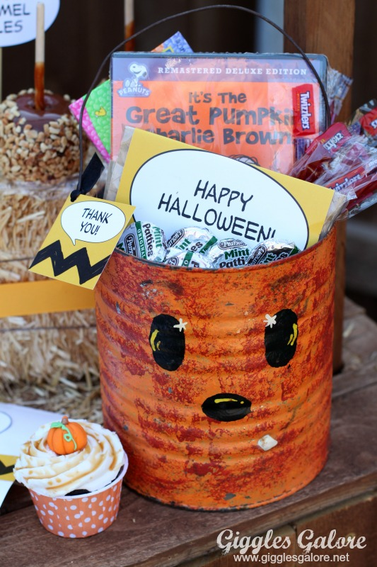 Its the Great Pumpkin Charlie Brown Movie Gift