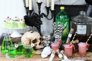 Kid Friendly Mad Scientist Halloween Party