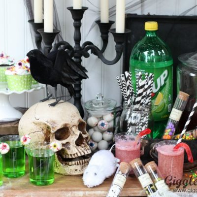 Mad Scientist Halloween Party