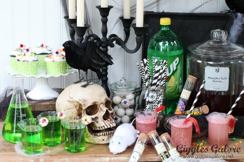 Kid Friendly Mad Scientist Halloween Party