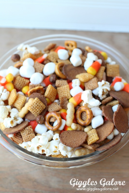 Mix It Together Halloween Chex Mix