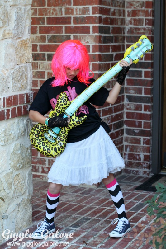 party like a rock star halloween costume