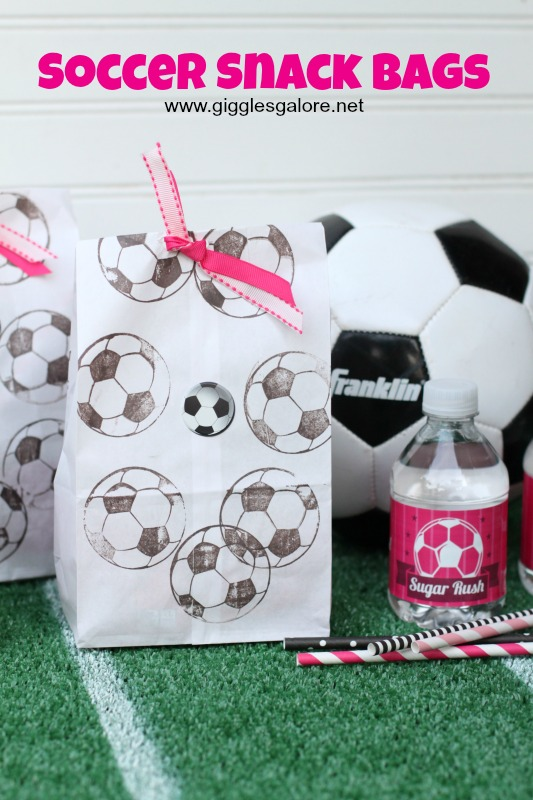 Soccer Snack Bags_Giggles Galore
