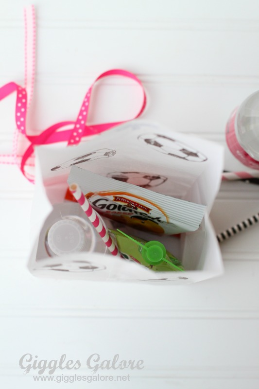 Soccer Snacks in Bag