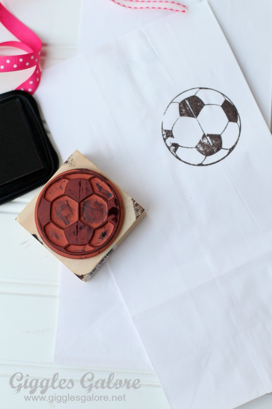 Stamping Soccer Bags