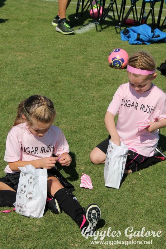 Sugar Rush Soccer Snack Bags