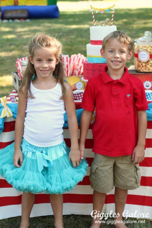 Twins Birthday Carnival