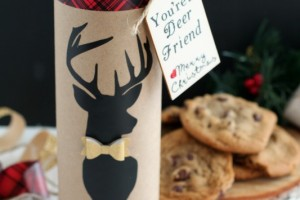 Christmas Gift for Friends – 'You're a Deer Friend' Cookies