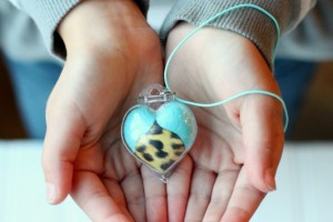 Cool Graphic Skinz Heart Locket