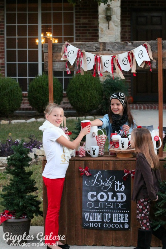Hot Cocoa Stand Share The Joy