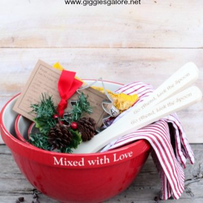 Personalized Mixing Bowls – Gift Idea for Bakers