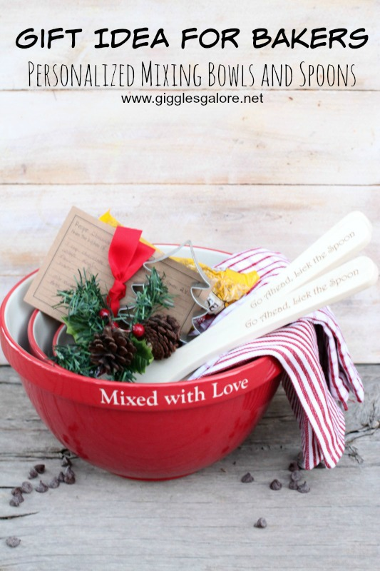 Gift Idea for Bakers Mixing Bowls and Spoons