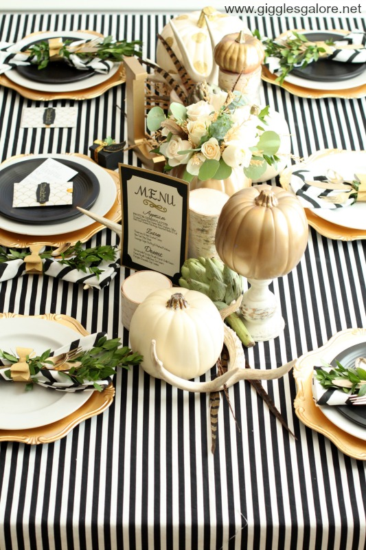 Thanksgiving Table Tips by Mariah Leeson